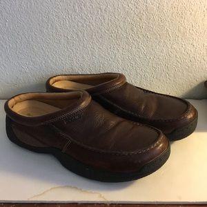 Rogue Men's Shoes Pebble Leather Slipons Driver's